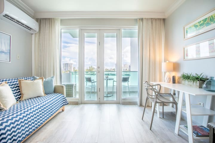 Atlantic View Studio | One of the best views in San Juan in a fun and trendy location