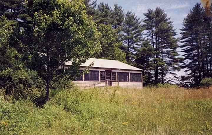 Private Cabin in woods 11 mi from Ogunquit Beach