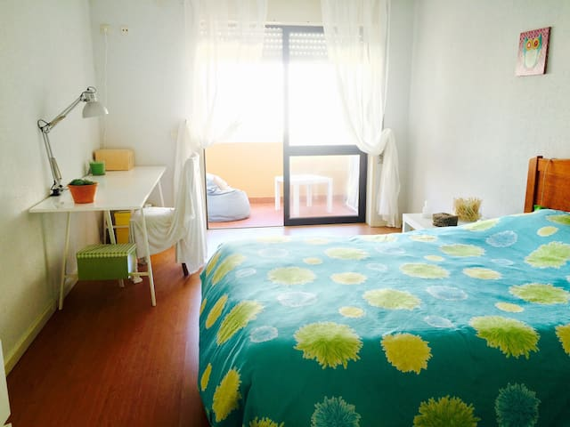 Spacious and cosy room by the sea - Póvoa de Varzim - อพาร์ทเมนท์