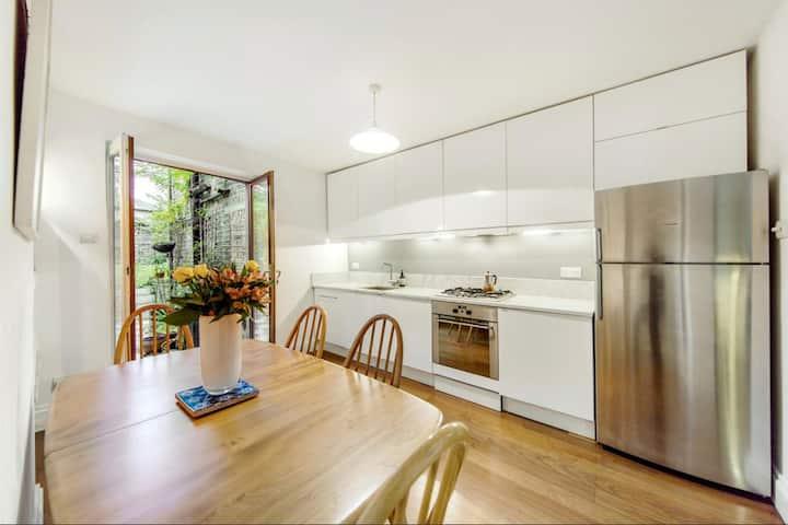 3 bedrooms  & large garden Queens Park/ Maida vale