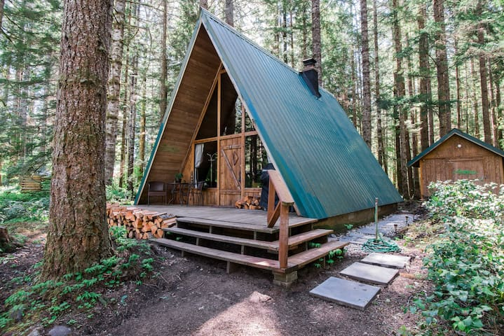 Wooded Paradise near Mount Rainier - Ashford - Rumah