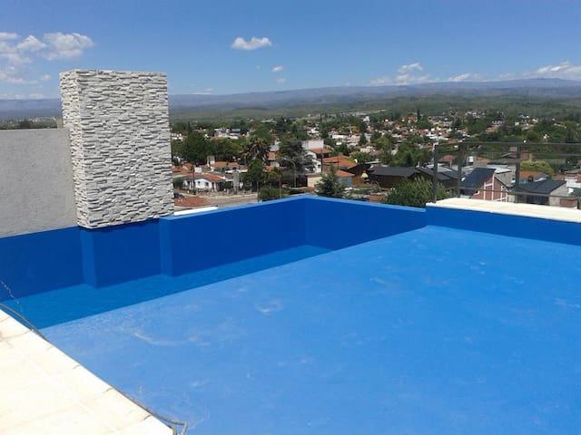EDIFICIO CENTRICO PEHUEN PARA 4 PERS - Villa Carlos Paz - Apartment