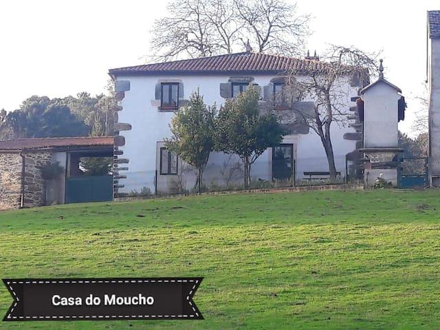 Casa rural integra hasta 12 pers prox a Santiago