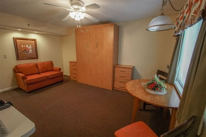 2nd Living Area/3rd Bedroom with Comfy Full Queen Sleeper Sofa! - Sand Pebble Resort