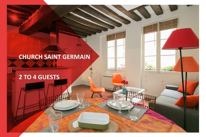 SoChic Suite Romantic Saint Germain des Prés - Paris - Apartemen