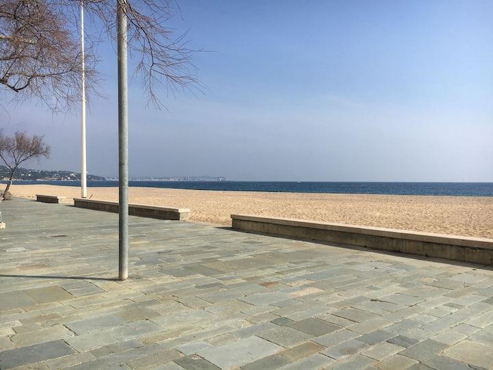 Piso primera  linea  de mar en playa d'aro