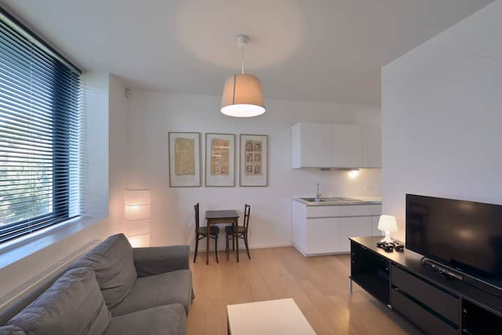 Fully equipped studio in Uccle