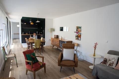 Cottage «Le Nid du pouillot» 6-8 pessoas Essonne