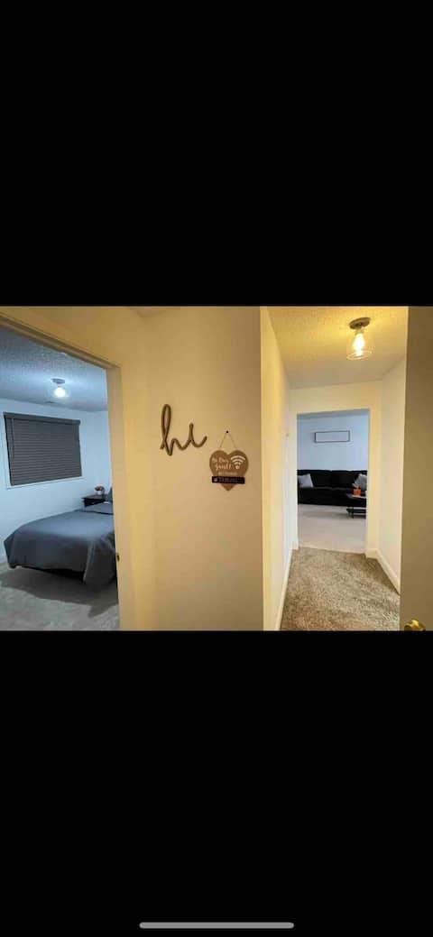 2-bedroom rental unit w/ lots of space!