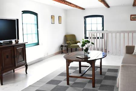 Stor, härlig lägenhet på Västanby Gård