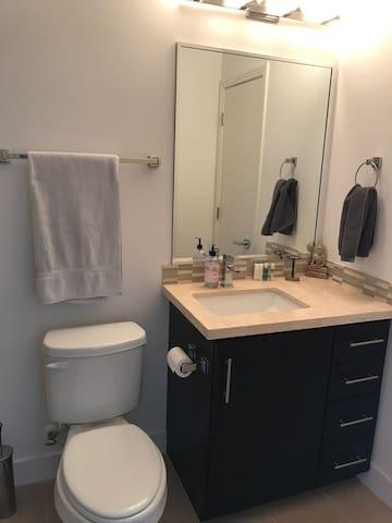 Downstairs bath room