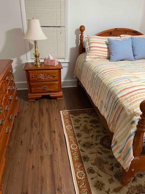 Cheerful three bedroom on family farm
