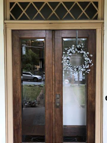 front porch door