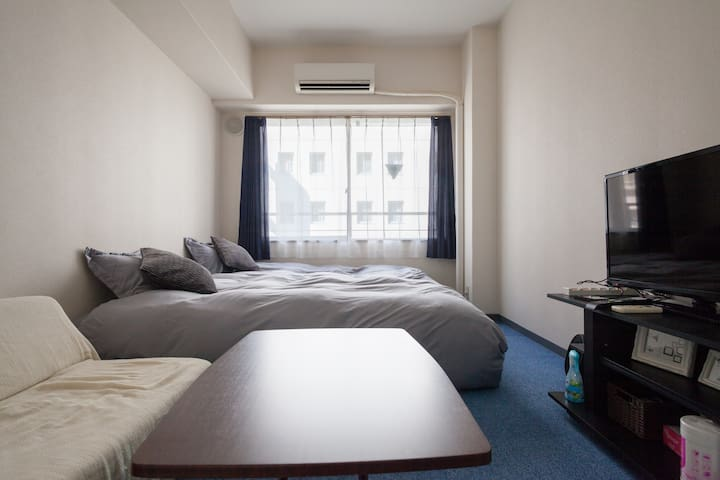 Center of Tokyo/Near Tokyo sta and subway sta/WiFi - Chuo - Apartment