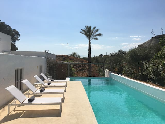 Twin room in house  with fab pool - Tabernas  - Talo