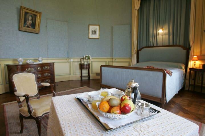 Chambre Ovale au château de Craon - Craon - Bed & Breakfast