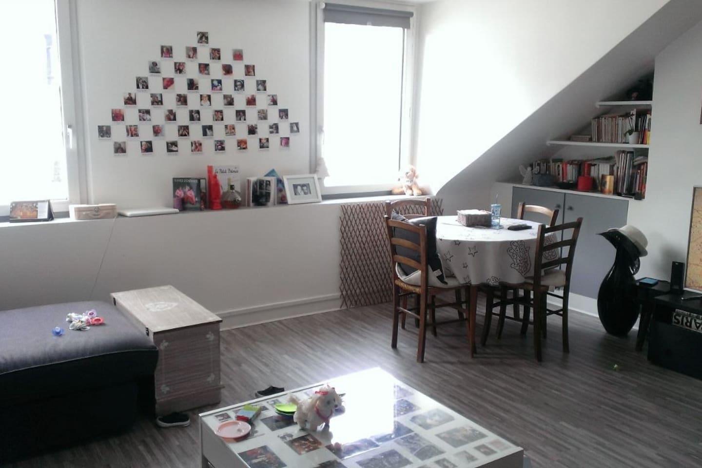 Appartement très lumineux - salon