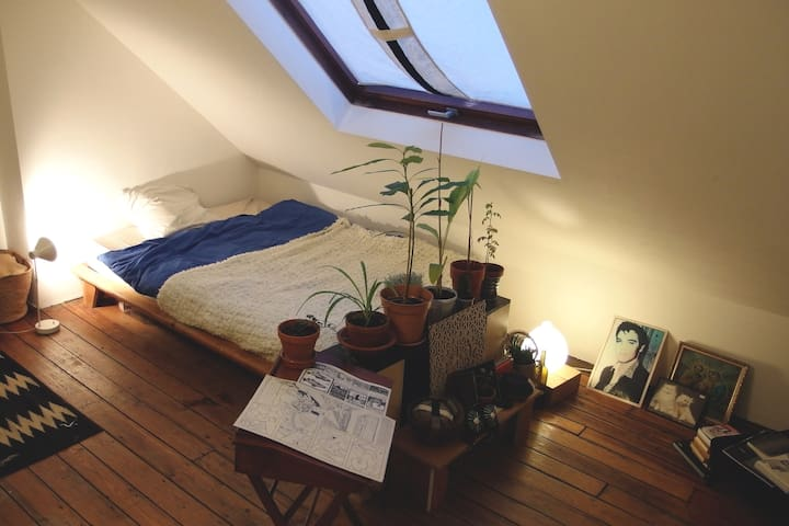 SuperNice Room Under Roof at Parvis Saint-Gilles - Saint-Gilles - Pis