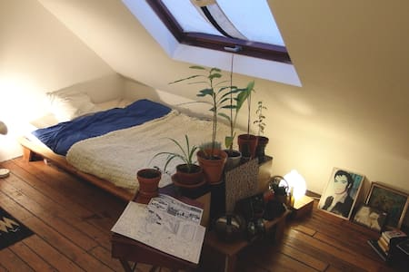 SuperNice Room Under Roof at Parvis Saint-Gilles - Saint-Gilles