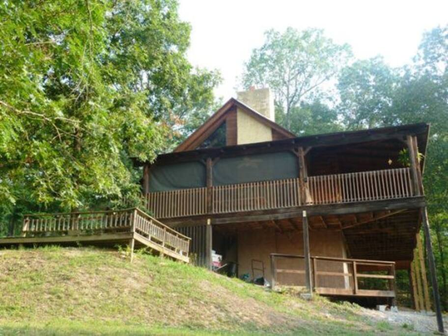 Shenandoah lodge cabins for rent in luray virginia for Cabin rentals near luray va