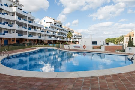 Beautiful Duquesa Appartment 3 Pools and Sea View