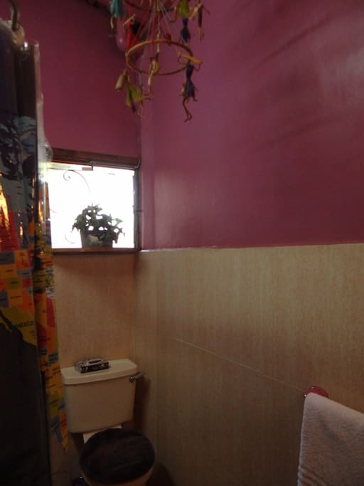 Nakuru Studio bathroom with full tub and shower