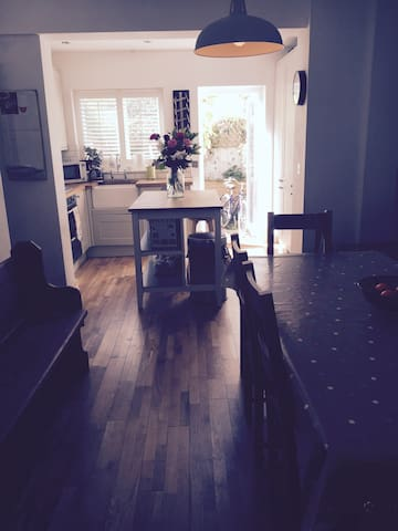 Lovely double room in Lewes - Lewes - บ้าน