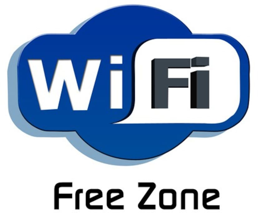 WI FI FREE OF CHARGE IN THE HOUSE.