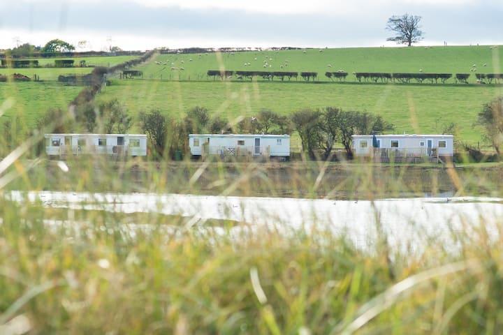 Captains Retreat -  A caravan with Estuary Views