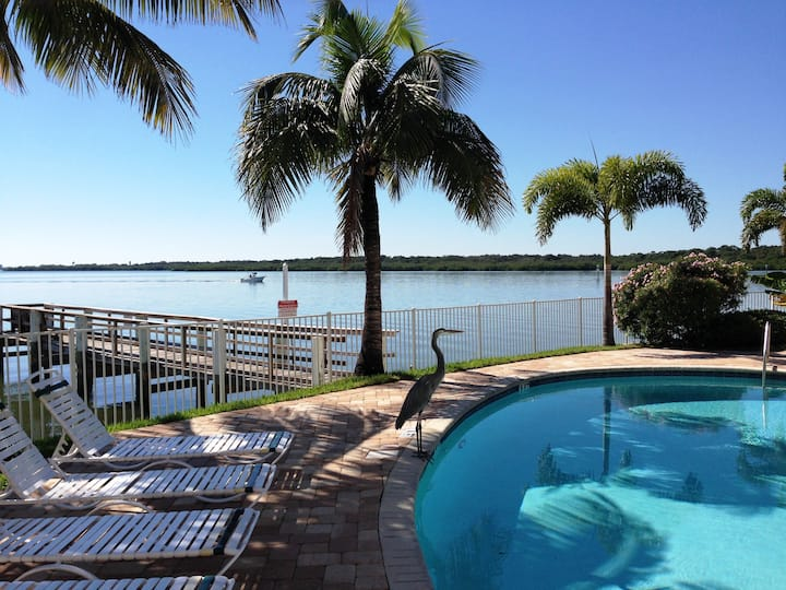 Waterfront condo by the water & pool etc. Unit 310
