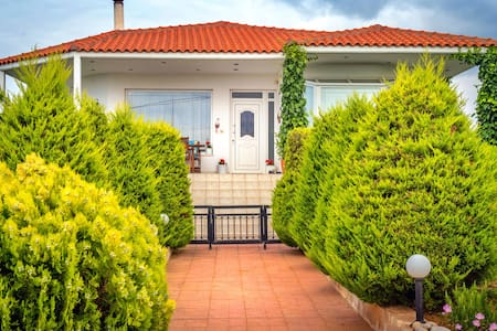Vineyard Country House, air-conditioned + seaview