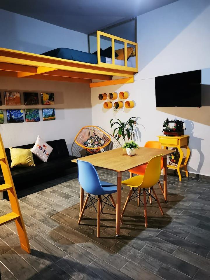 Habitación independiente, sala-comedor, cocina✨