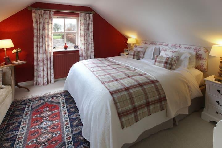 Luxury Bedroom near Morpeth - Mitford, Morpeth - Penzion (B&B)