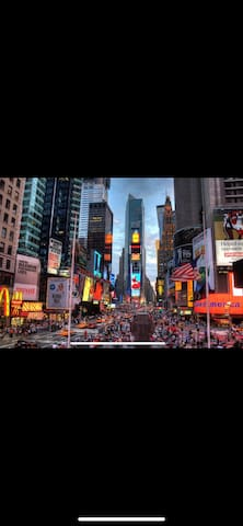 7 mins walk to Times Square