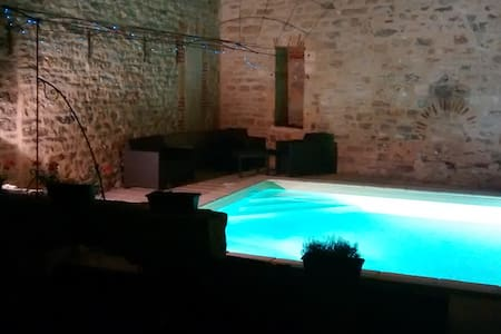 Townhouse with pool - Saint-Antonin-Noble-Val