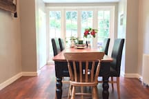 Dining room off the kitchen - Available upon invitation from the host
