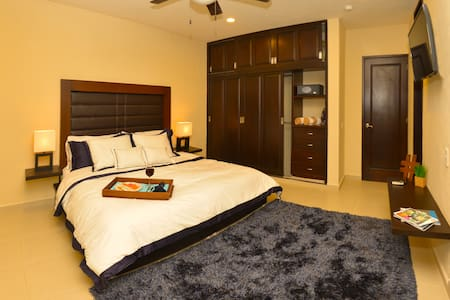 Private Room in Deluxe Apartment Downtown Playa - Playa del Carmen - Apartment