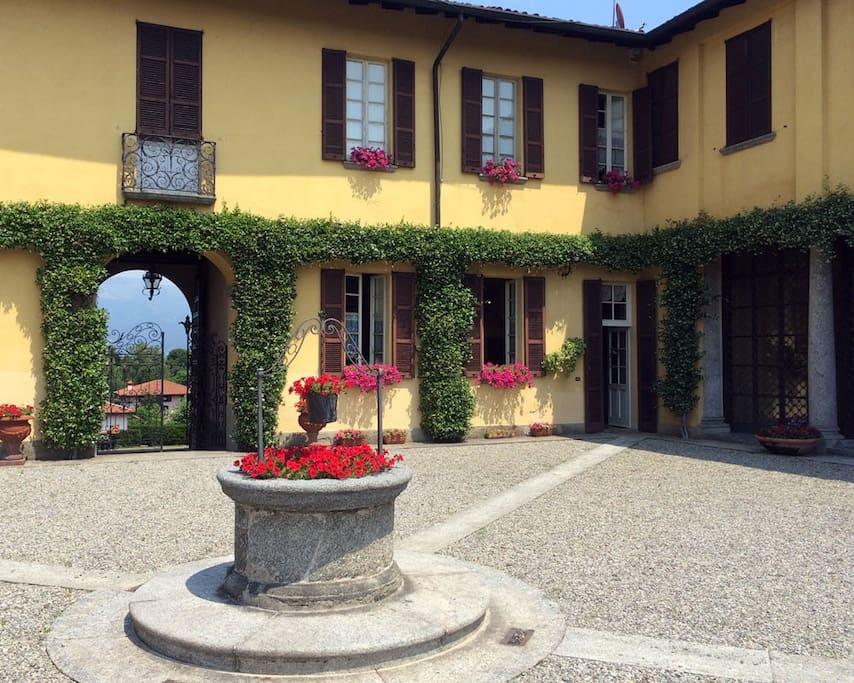 Il cortile principale