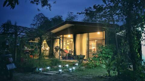 Beautiful Art House design with garden Chiang Mai