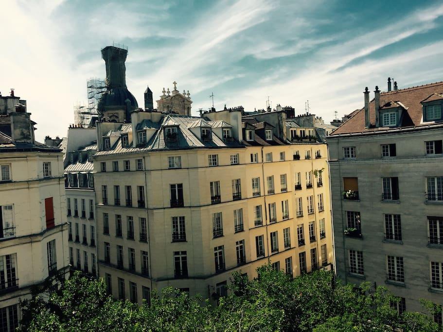 charme bohemien marais wohnungen zur miete in paris. Black Bedroom Furniture Sets. Home Design Ideas