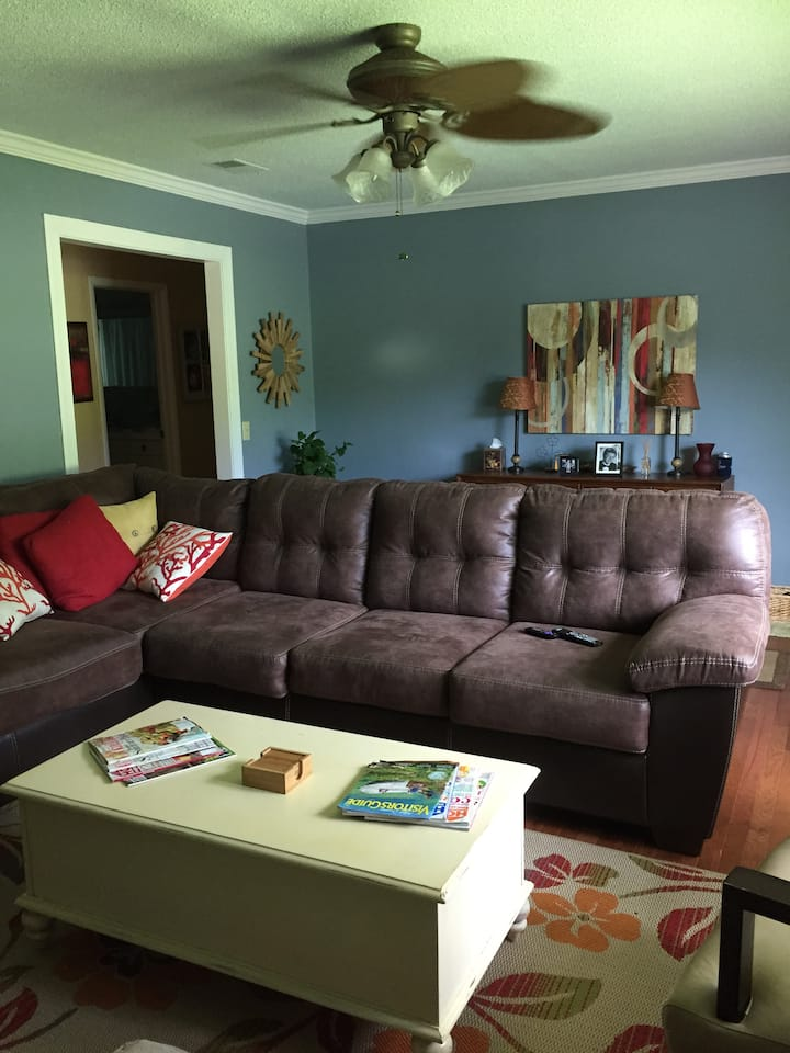 Cozy house centrally located