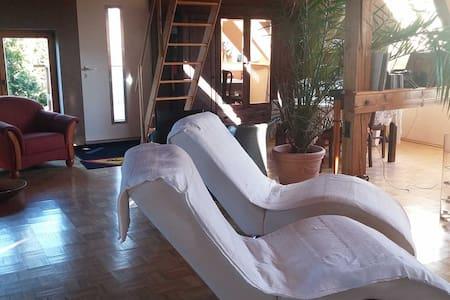 Ferienwohnung Villa Kunterbunt - Höhenland OT Wollenberg - Lyxvåning