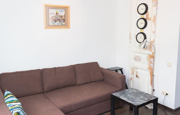 2 комнатная квартира  рядом с центром у м. Лесная