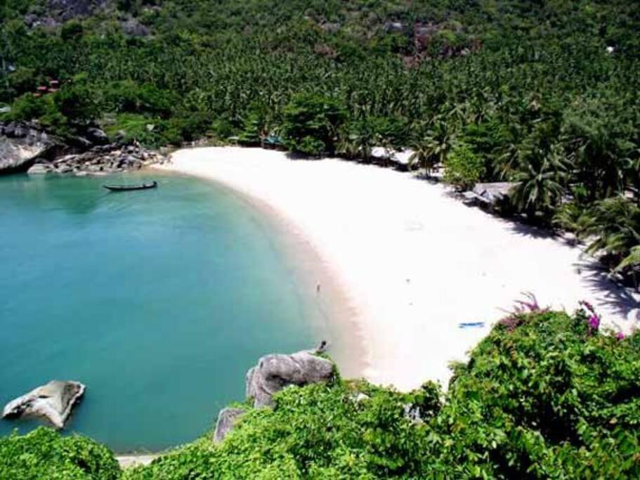 Than Sadet beach 300 Metres from the villa