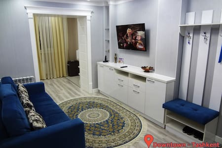 The new apartment in the heart of Tashkent