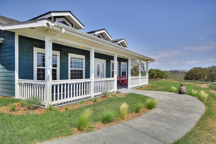 3BR Countryside Ranch House - Lompoc - บ้าน