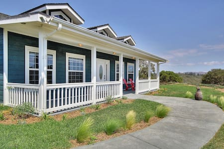 3BR Countryside Ranch House - Lompoc - Dom