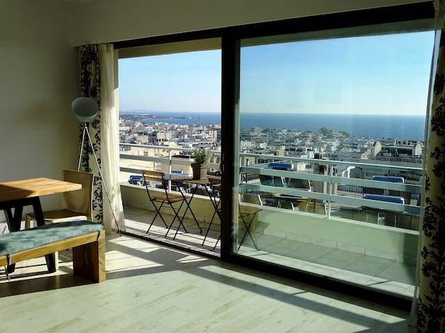 Kalamaki Sea View Penthouse - Alimos - Apartment