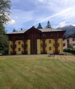 Fantastica vista sul Monte Rosa - Gressoney-Saint-Jean - Apartment