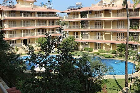Lovely apartment in North Goa
